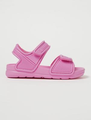 Pink 2 Strap Sandals