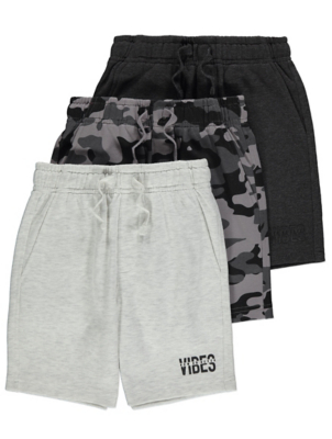 Jersey Shorts 3 Pack