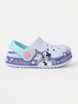 First Walkers Disney Minnie Mouse Lilac Clogs