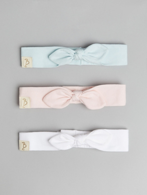 Billie Faiers Knotted Bow Headbands 3 Pack