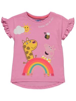 Pink Peppa Pig T-Shirt