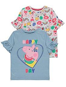 Kids Unicorn T-Shirt Girls Short Sleeve Tee Top Shirt Age 2 3 4 5 6 7 Years Cute
