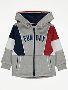 Converse New Baby-Boys Hoodie and Pant Plain Clothing Set Red Navy 1-2 Years