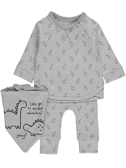 Dinosaurs Dribble Bib Baby Boys Costume