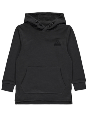 Charcoal Jersey Hoodie