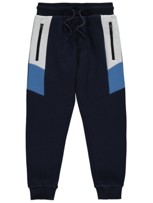 Navy Side Panel Joggers