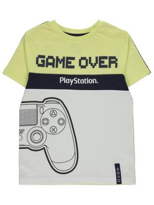 PlayStation Yellow T-Shirt