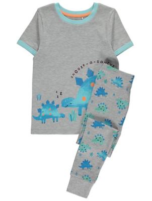 Grey Dinosaur Pyjamas