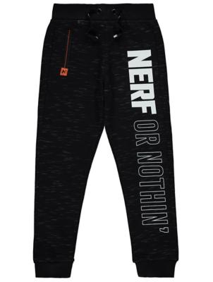 NERF Black Marl Joggers