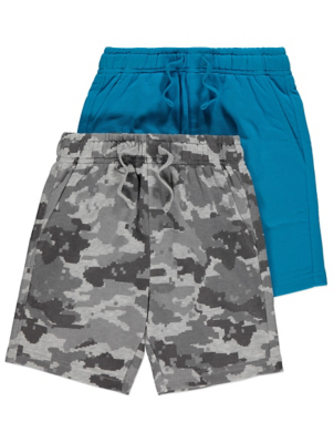 Blue Jersey Shorts 2 Pack