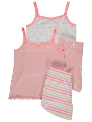 Printed Short Pyjamas 2 Pack
