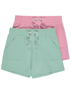 Jersey Cotton Shorts 2 Pack