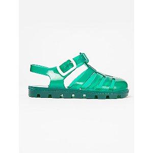 Dark Green Jelly Sandals