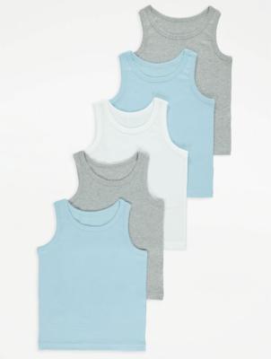 Assorted Vests 5 Pack