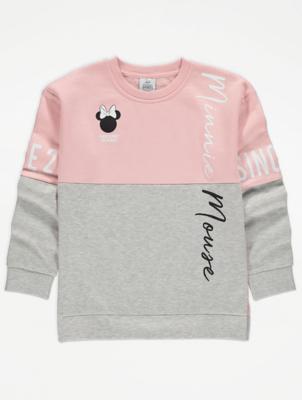 Disney Minnie Mouse Pink Sweatshirt