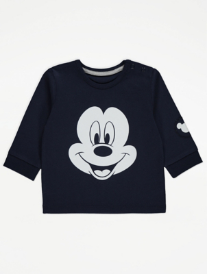 Disney Mickey Mouse Black Top