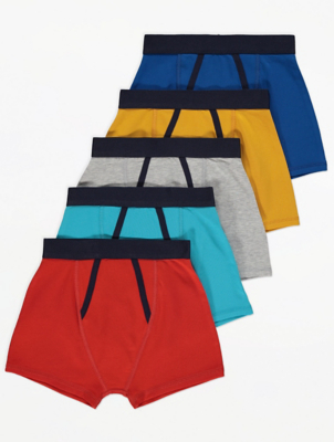 Colourful Jersey Trunks 5 Pack