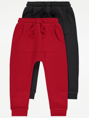 Red Joggers 2 Pack