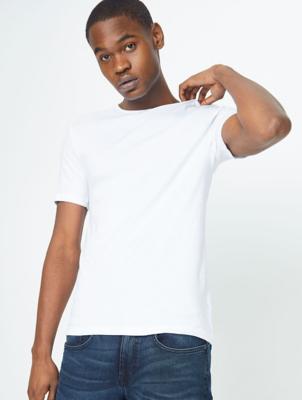 White T-Shirt Vests 3 Pack