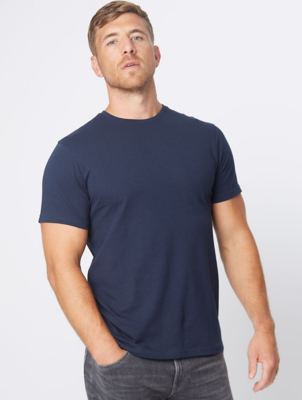 Navy Jersey Slim Fit T-Shirt