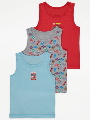 Hey Duggee Blue Vests 3 Pack
