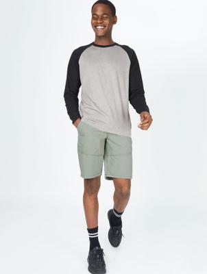 Khaki Carpenter Shorts