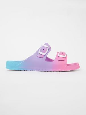 Ombré 2 Buckle Strap Sandals