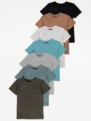 Jersey T-Shirts 7 Pack