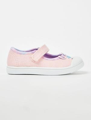 Pink Unicorn T-Bar Shoes