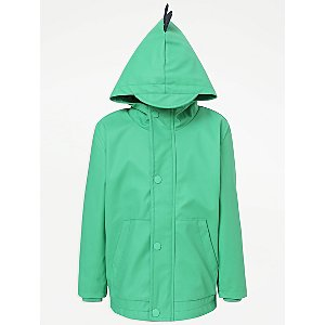 Green Dinosaur Fisherman Jacket