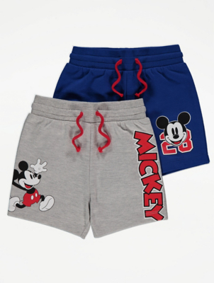 Disney Mickey Mouse Jersey Shorts 2 Pack