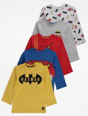DC Comics Superhero Tops 5 Pack