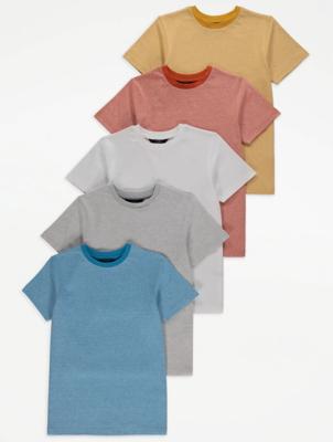 Marl T-Shirts 5 Pack