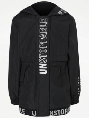 Black Unstoppable Slogan Mac