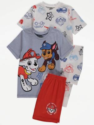 PAW Patrol Character Short Sleeve Pyjamas 2 Pack
