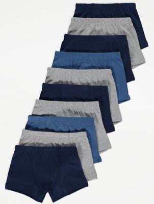 Navy Jersey Trunks 10 Pack