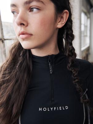 HOLYFIELD Black Long Sleeve Bodysuit