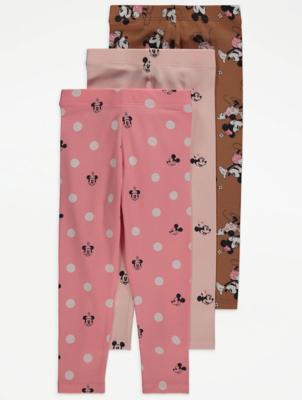 Disney Minnie Mouse Leggings 3 Pack