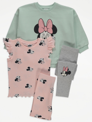 Disney Minnie Mouse Graphic Outfits 2 Pack