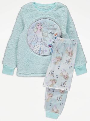 Disney Frozen Fleece Pyjamas Gift Set