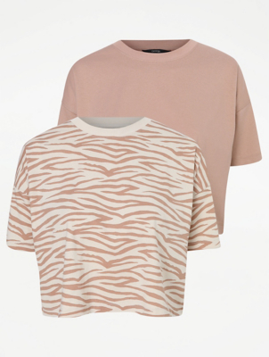 Dusty Pink T-Shirts 2 Pack