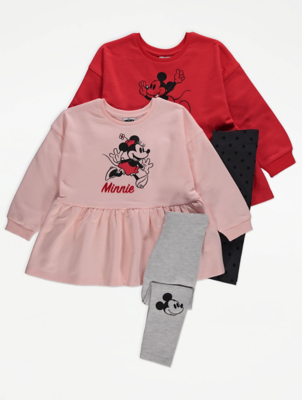 Disney Minnie Mouse Dress and Leggings 2 Pack