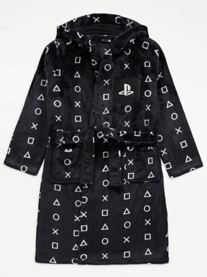 PlayStation Black Fleece Dressing Gown