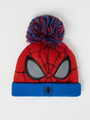 Marvel Spider-Man Knitted Bobble Hat