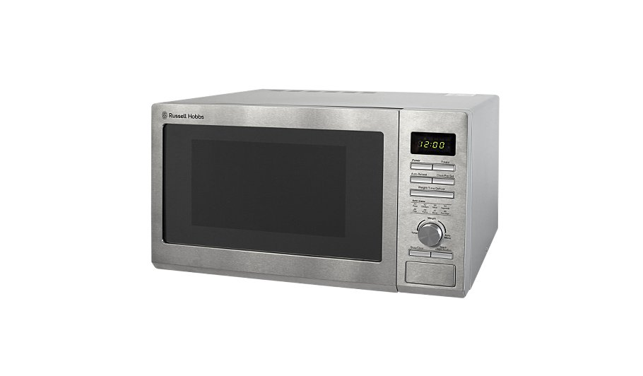 Rus Hobbs Rhm2563 25l 900w Microwave Stainless Steel Home Garden George At Asda