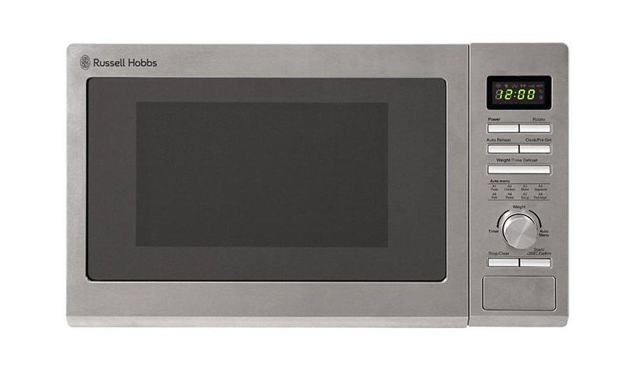Rus Hobbs Rhm2563 Microwave Stainless Steel