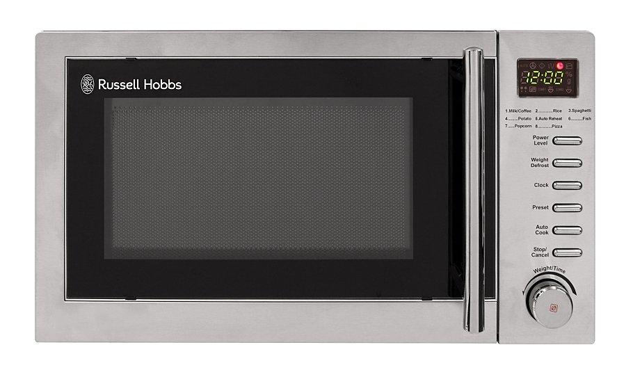 Rus Hobbs Digital Microwave Stainless Steel