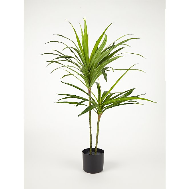 Artificial Yucca Plant 100cm Home George At Asda
