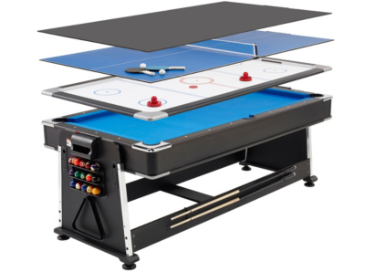 3 In 1 Pool/Air Hockey/Table Tennis Multi Game Table | Kids | George At ASDA