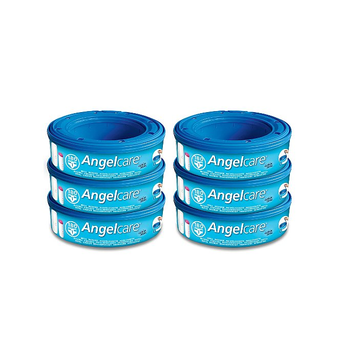 Angelcare Nappy Disposal System Refill Cassette Pack of 3